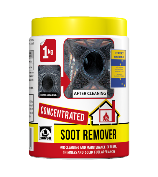 Concentrated Soot Remover 1 Kg Hansa