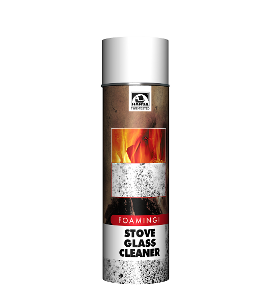 Stove Glass Cleaner Foaming 500 Ml Hansa