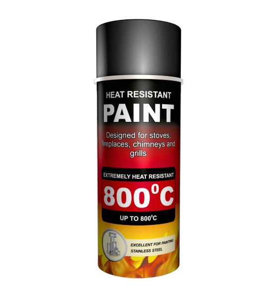 Heat Resistant Spray Paint Fireplace