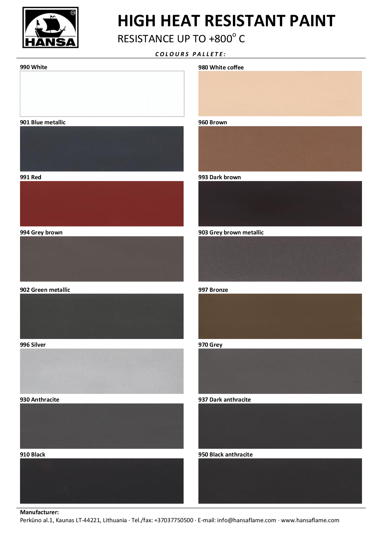 Image Result For Heat Resistant Paint Colors