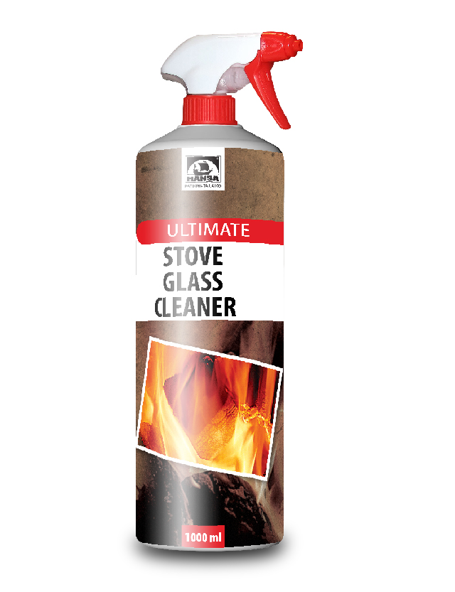 Stove Glass Cleaner Ultimate 1000 Ml Hansa